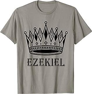 Ezekiel - King Prince Crown, Gift For father day, Men, Boy T-Shirt