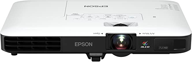 Epson PowerLite 1795F 3LCD 1080p full HD wireless mobile projector with carrying case and fast and easy image adjustments,...