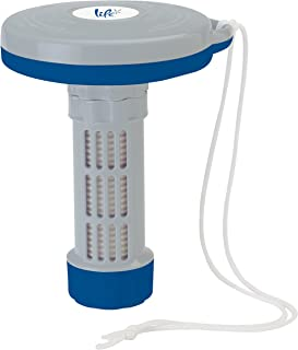 Floating Bromine or Chlorine Tablet Dispenser for Small Swimming Pools or Spas