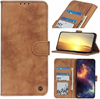 Dalchen Compatible for Case Oppo A92S, 3 Card Slots 1 Cash Pockets Wallet Cover, Leather Flip Magnetic Button Kickstand Ph...