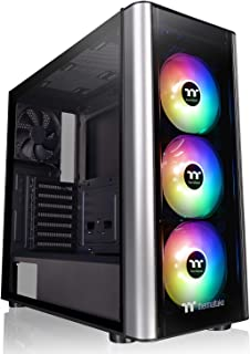 Thermaltake Level 20 MT ARGB Midi-Tower Negro, Plata Carcasa de Ordenador