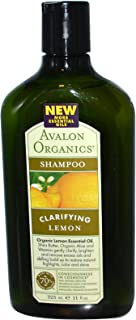 Avalon Organics Lemon Clarifying Shampoo, 11 Ounce - 6 per case.