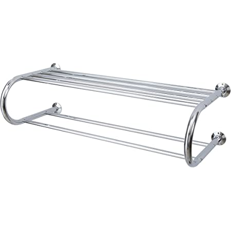 Organize It All 1750w 1 Mounted Chrome Shelf 26 W X 11 25 L X 7 5 H Home Kitchen
