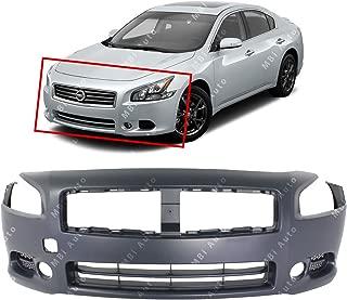 MBI AUTO - Primered, Front Bumper Cover Fascia Replacement for 2009-2014 Nissan Maxima 09-14, NI1000258