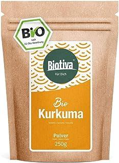 polvo de cúrcuma orgánica (250g) - Bio Curcumin - para