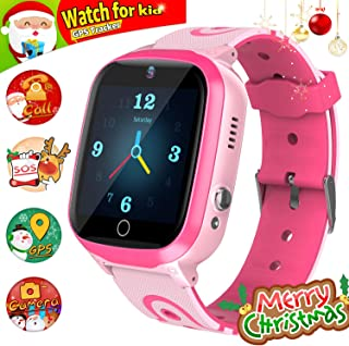 YENISEY Kids Smart Watch for Boys Smartwatch WiFi/GPS Tracker Watch, Kids GPS Tracker Watch Activity Tracker Digital Watch, Touch Screen HD Camera Pedometer SOS for Boys Girls Gift