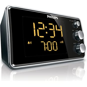Philips AJ3231 Radio réveil avec tuner FM, double alarme
