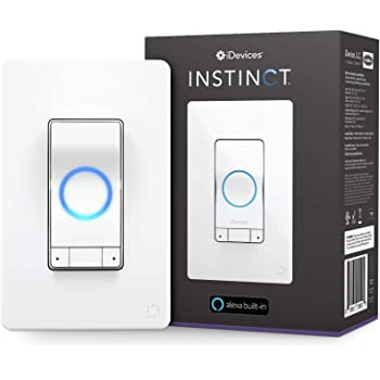 Instinct By iDevices, The Smart Light Switch With Alexa Built-In