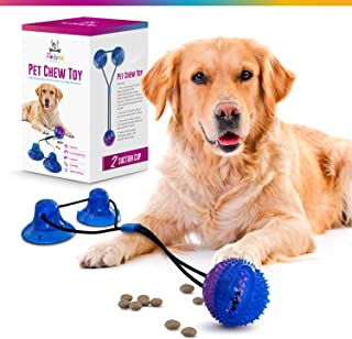 Palomo Market Dog Puzzle Toy - Blue & Purple 2 Sticky Pads, Instructions and Packaging. Attractive Dog Enrichment Toy. Let...
