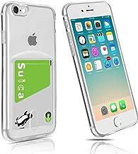iPhone SE Case, [2nd Generation] iphonese2 Card Case, iPhone 7 Case, Card Storage, Clear, iPhone 8 Case, Tpu Soft, Thin, Transparent, Ultra Lightweight, Slim, Soft