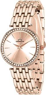 Chronostar R3753272505 Majesty Year Round Analog Quartz Rose Gold Watch
