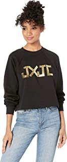Juicy Couture Womens JXJC Gold Foil Logo Pullover