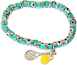 Tennis Karma Bracelet - Great Tennis Gift for Women - Makes Great Gifts for Tennis Players