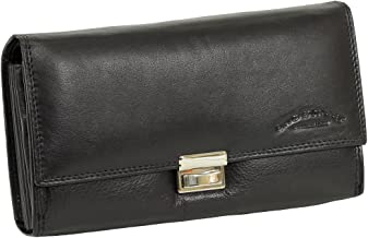 Rinaldo ® prezzo valori cameriere borsa in nero//rosso in robusto cuoio