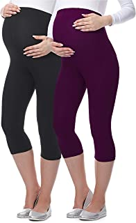 Be Mammy Premamá Lote de 2 Leggins 3/4