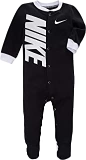 Nike Children's Apparel Baby Graphic Logo Footed Coverall