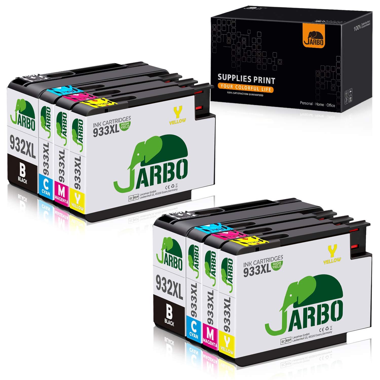 JARBO Reemplazo 933XL para cartuchos de tinta HP 932 XL 933 XL ...