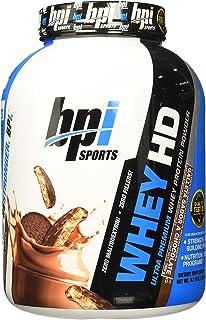BPI Sports Whey HD Ultra Premium Protein Powder, Chocolate Cookie, 4.2 Pound (1.9 kg)