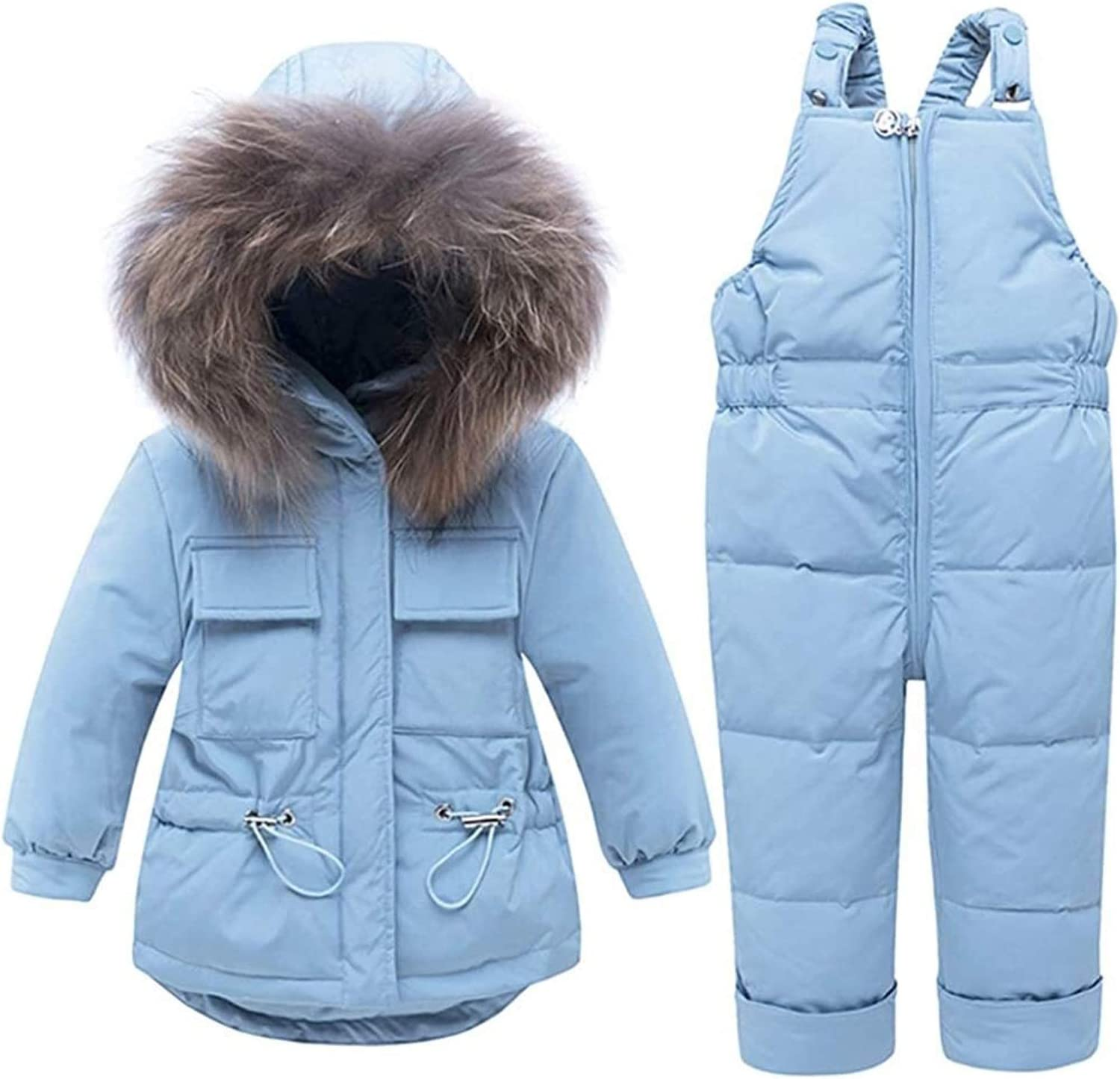 NYKK Baby Boys Girls Snowsuit Toddler Outfit Sets Winter Minneapolis Mall Max 81% OFF Ho Kids