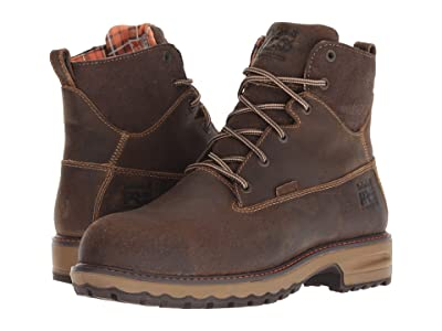 Timberland PRO Hightower 6 Safety Toe WP 400 Insulated (Brown Distressed) Women