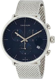 Calvin Klein Men's Quartz Watch, Chronograph Display and Stainless Steel Strap K8M2712N