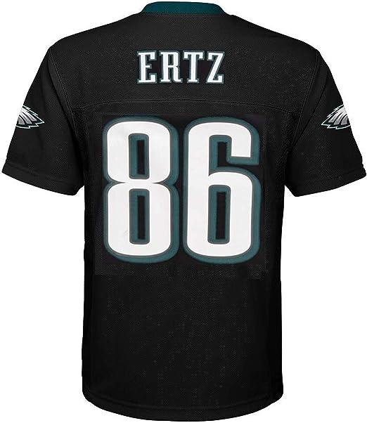 Zach Ertz Philadelphia Eagles NFL Youth 8-20 Black Alternate Mid-Tier Jersey