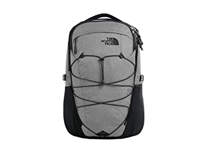 The North Face Borealis (Zinc Grey Dark Heather/TNF Black) Backpack Bags
