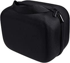 Hemobllo VR Case Carry Bag Virtual Realit Headset and Controllers Accessories Protective Storage Box for Oculus Go (Black)