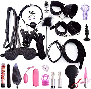 22pc Leather Set SixxToys for Men Women Couples Kit