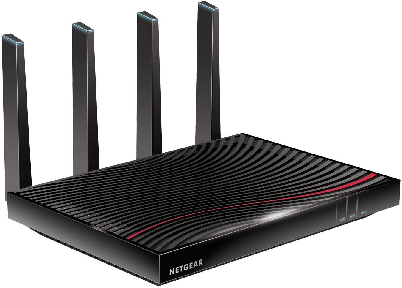 NETGEAR Nighthawk Cable Modem WiFi Router Combo (C7800) - Compatible with Cable Providers Including Xfinity by Comcast, Cox, Spectrum   Cable Plans Up to 2 Gigabits   AC3200 WiFi Speed   DOCSIS 3.1