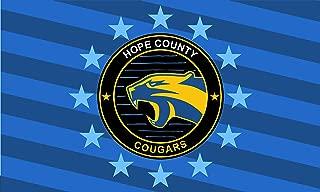 Hope County Cougars Landscape   3x5 ft / 90x150cm   Long Lasting Flag