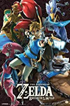 Pyramid America Legend of Zelda Breath of The Wild Divine Beasts Video Game Gaming Laminated Dry Erase Sign Poster 12x18