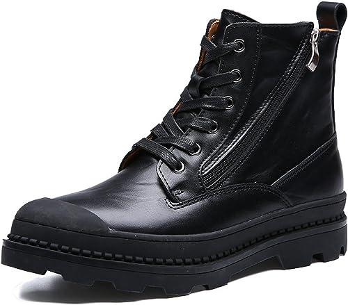 GTYMFH Winter Koreanische Wilde Baumwollschuhe Plus Kaschmir Martin Stiefel Herrenschuhe High-Top-Schuhe