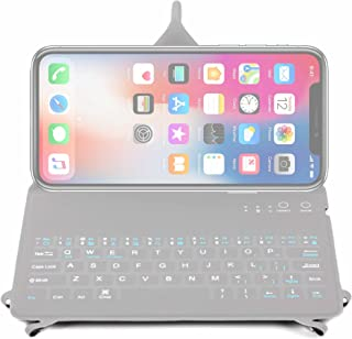 DURAGADGET Ultra-Slim Rechargable QWERTY Keyboard Case with Origami Folding Stand - Suitable for The Apple iPhone Xs Max/XS/XR/X / 8/7 / 7 Plus / 6S / 6S Plus / 6/6 Plus/SE
