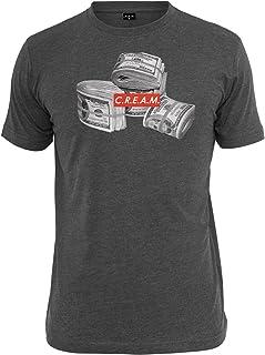 Mister Tee Herren T-Shirt C.R.E.A.M. Bundle Print Kurzarm-Shirt