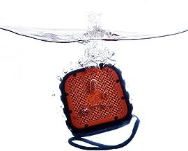 TimoLabs TM-BT002-2016C-OR Corbett I Mini Rugged Waterproof Wireless Bluetooth Speaker, Orange