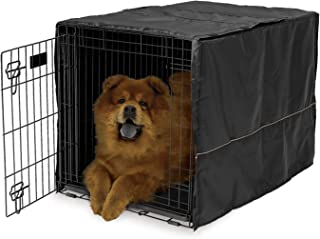 grey dog crate cover