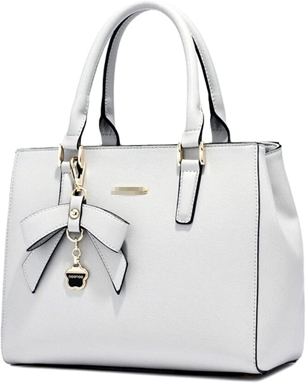 Dapengzhu Women's Fashion Faux Leather Tophandle Handbags OL Casual Tote Crossbody Shoulder Bag Purse Hot sell