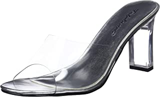 Best clear lucite heel mules Reviews