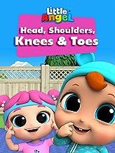 Head, Shoulders, Knees and Toes - Little Angel