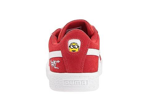 a1af54ff7ef Puma Kids Minions Suede V (Little Kid) at 6pm