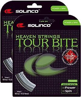 Solinco Tour Bite Diamond Rough Tennis String - 2 Packs - Choice of Gauge