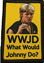 Karate Kid WWJD What Would Johnny Do? Morale Tactical Military Patch Made in the USA Perfect for your rucksack,pack bag, Molle Gear operator hat or cap! 2x3