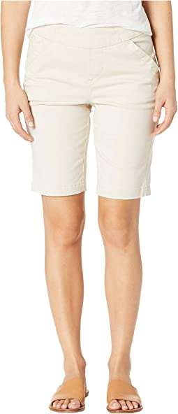 Petite Gracie Pull-On Bermuda Shorts