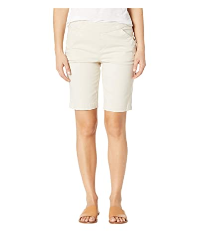 Jag Jeans Petite Petite Gracie Pull-On Bermuda Shorts (Stone) Women