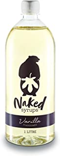 Naked Syrups, Vanilla, Beverage Flavouring, 1L