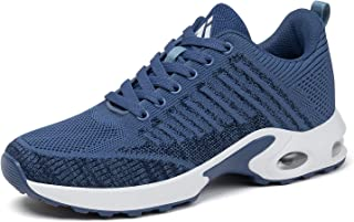 Women's Running Walking Shoes Breathable Air Cushion Sneakers