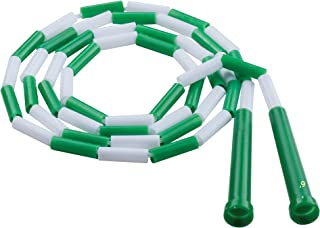 Champion Sports Plastic Segmented Jump Rope- Available in Multiple Colorful Sizes