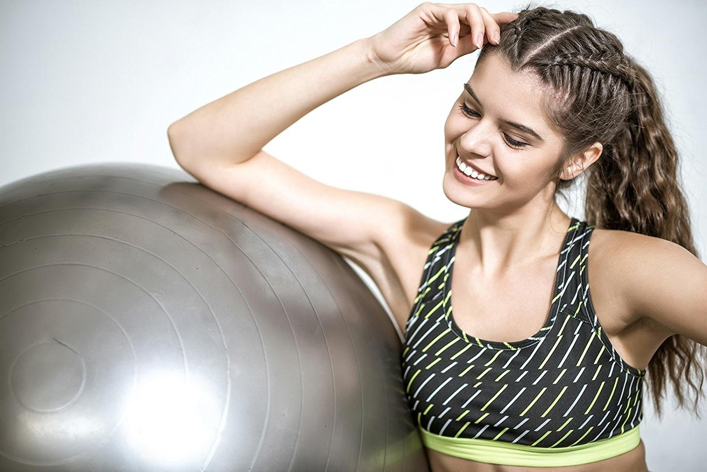 RitFit Exercise Stability Ball 2000lbs Anti Burst Pilates Yoga Fitness Balance
