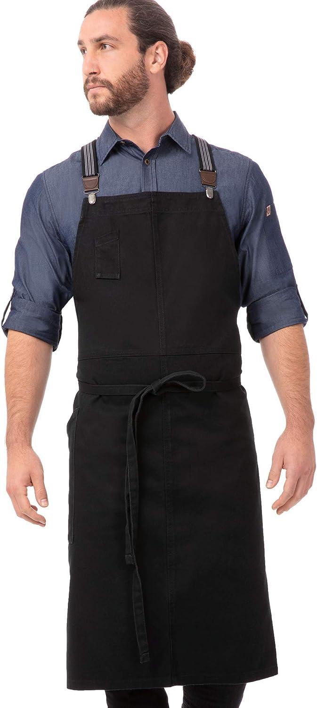 Chef Sales results No. 1 Works Unisex Max 67% OFF Berkeley Chefs Apron Bib